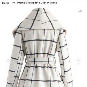 Chicwish white coat